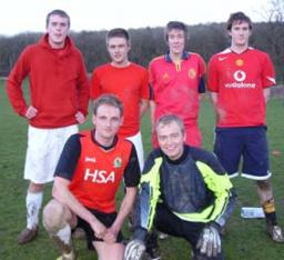 Tim Farron MP in 6-a-side football tournament