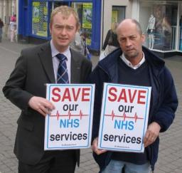 Tim Farron MP & Tony Impey