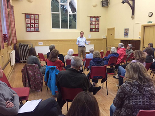 Tim at a Town Hall meeting in Windermere