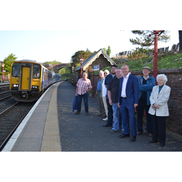 New commuter train for Dent