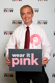 Tim Farron - Wear it Pink
