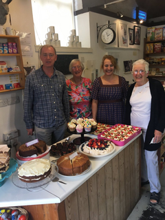 Tim at Witherslack Community Shop