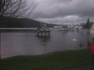 Bowness bay flooded back in 2009