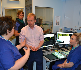 Tim at Westmorland General Hospital