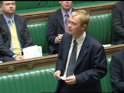 Tim speaking in Parliament