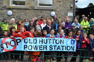 Tim and Old Hutton campaigners