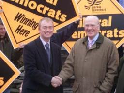 Sir Menzies Campbell MP & Tim Farron MP in Ambleside