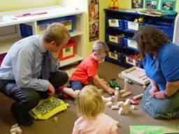 Tim Farron MP at Kendal Nursery School