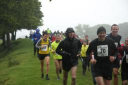 Drenched runners at Coniston. Photo: James Kirby, VO2 Max Events