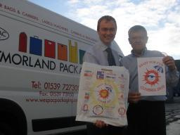 Tim Farron MP and Tim Johnson, Manager of Westmorland Pac