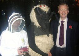 Tim with members of the British Bee Keeping Association
