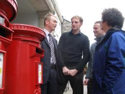Tim campaigning to protect our Post Office network