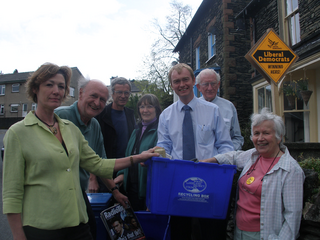 The Lib Dems: Working hard for our community all year round - not just at election time!