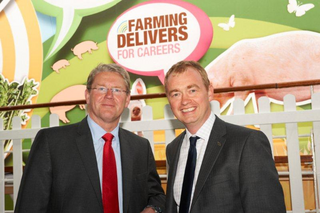 Local MP Tim Farron with NFU President Peter Kendall. Peter recently called Tim a true ally of farming. (National Farmers Union)
