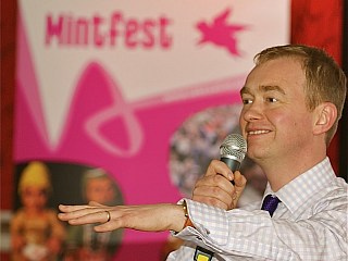 Tim at Mintfest auction