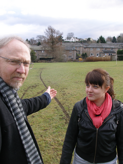 South Lakes MP Tim Farron has today backed local Councillor Rob Boden's campaign to improve facilities on the Hallgarth estate.