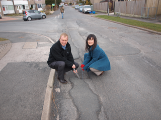 South Lakes MP Tim Farron has called on local residents to email him a picture of the worst pothole in their area. Tim plans to give all the pictures to the county council and demand that they fix our roads!