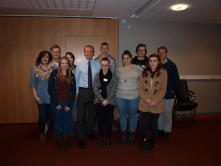 Local MP Tim Farron was put under the political spotlight by students during a question and answer session at Kendal College.
