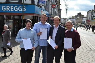 South Lakes MP Tim Farron has sent out petitions to over 20,000 people throughout South Lakeland to allow people to add their voice to the growing campaign to protect Westmorland General Hospital.