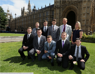 South Lakes MP Tim Farron has met Brathay's 'apprentice team of the year' in Westminster.