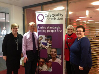 At last night's CQC listening event at Kendal College South Lakes MP Tim Farron, he pressed for higher staffing levels on the wards and for more services to be brought back to Westmorland General Hospital.