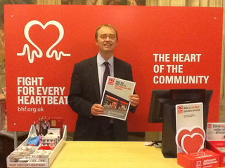 Local MP Tim Farron joined the British Heart Foundation (BHF)'s fight against heart disease in Parliament to raise awareness of their life-saving research.