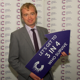 South Lakes MP Tim Farron joined Cancer Research UK scientists in Westminster to find out more about the charity's inspiring new plan to accelerate progress and help save more lives in the North West.