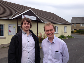 South Lakes MP Tim Farron has welcomed the 'massive step forward' in the long running campaign to bring back the play equipment to the Hallgarth estate in Kendal. Tim has thanked local councillor Matthew Severn for all of his hard work on the issue.