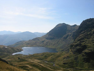 The Langdale Valley Association have completed and handed in the required forms to begin the process of registering Stickle Tarn as a community asset. They have been backed by local councillor Heidi Halliday and South Lakes MP Tim Farron. (http://old.leaney.org/)