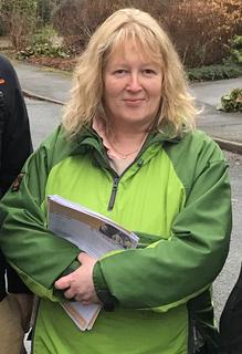 Windermere councillor Dyan Jones