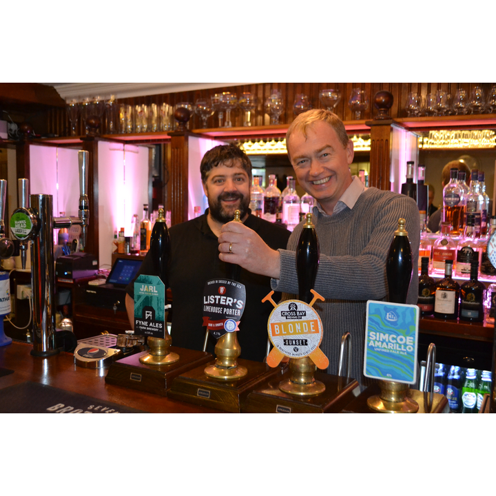 Tim and Phil Walker at The New Union