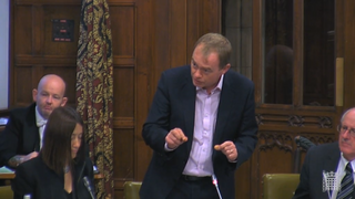 Tim speaking during the debate on Bovine TB in cattle