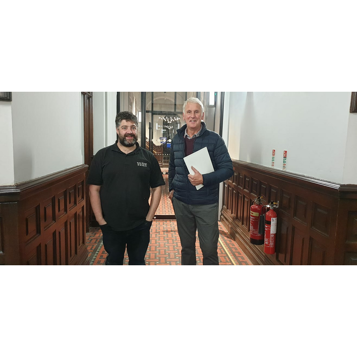 Phil Walker and Jonathan Cornthwaite